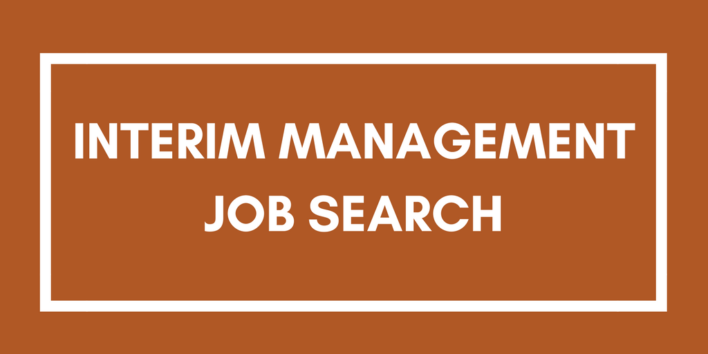 Interim Management Job Search